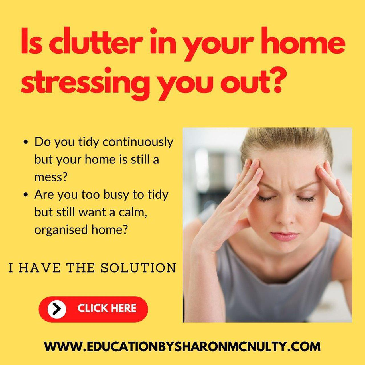 Declutter Your Entire Home One Day At A Time