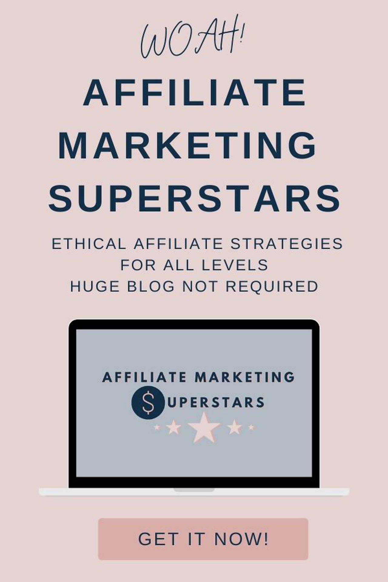 Affiliate Marketing Superstars Course