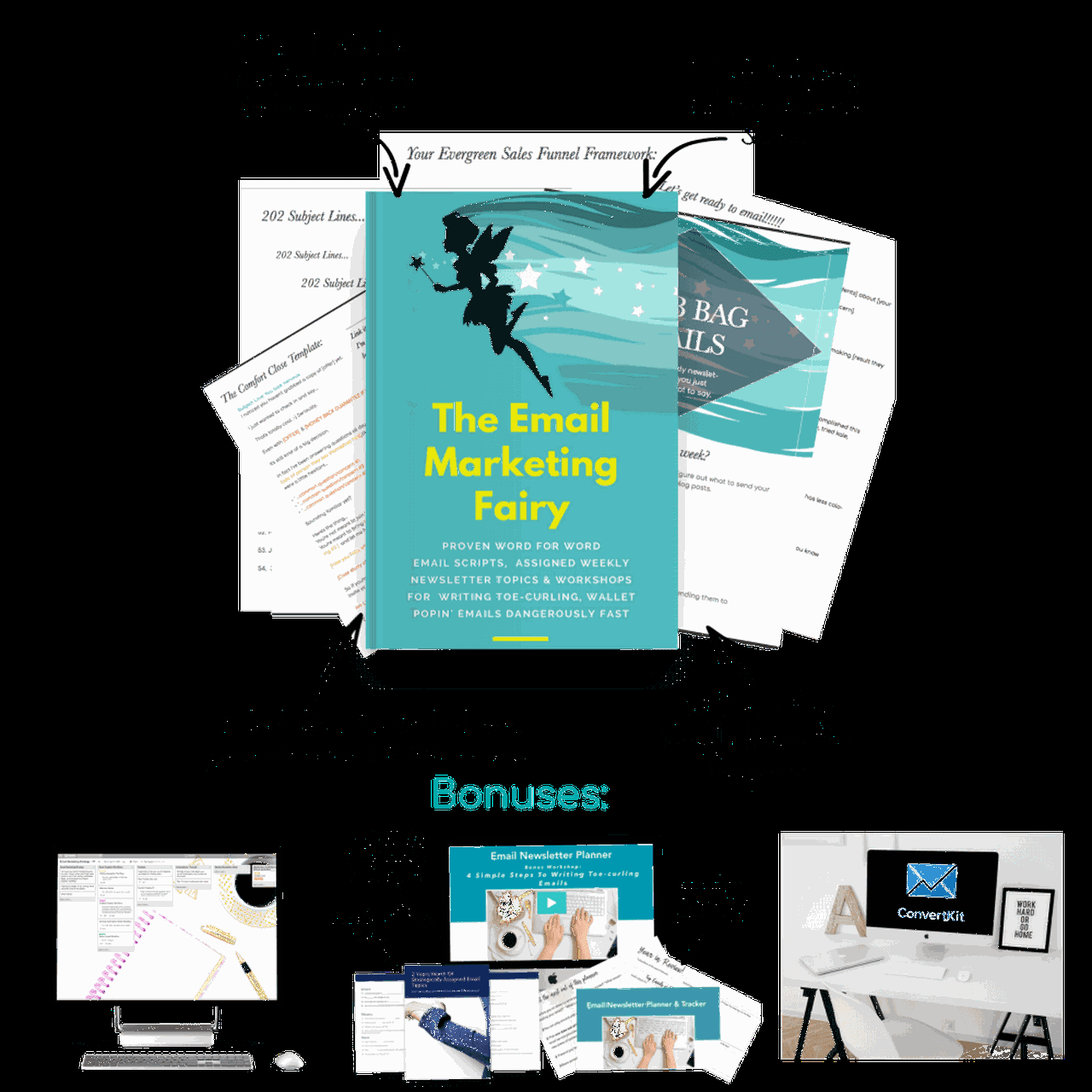 The Email Marketing Fairy Template Set