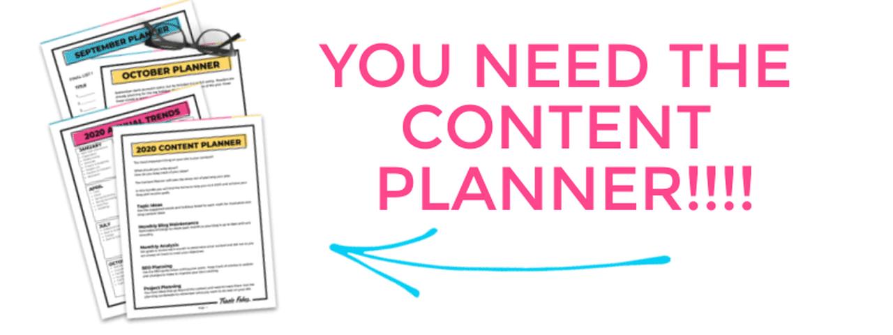 Blog Content Planner
