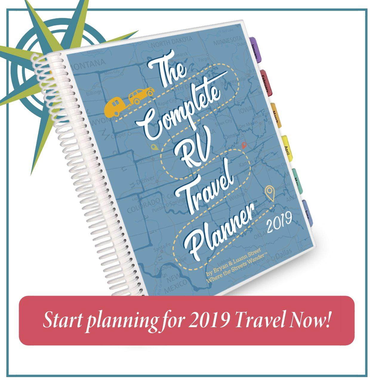 The Complete RV Travel Planner 2019 3-Hole