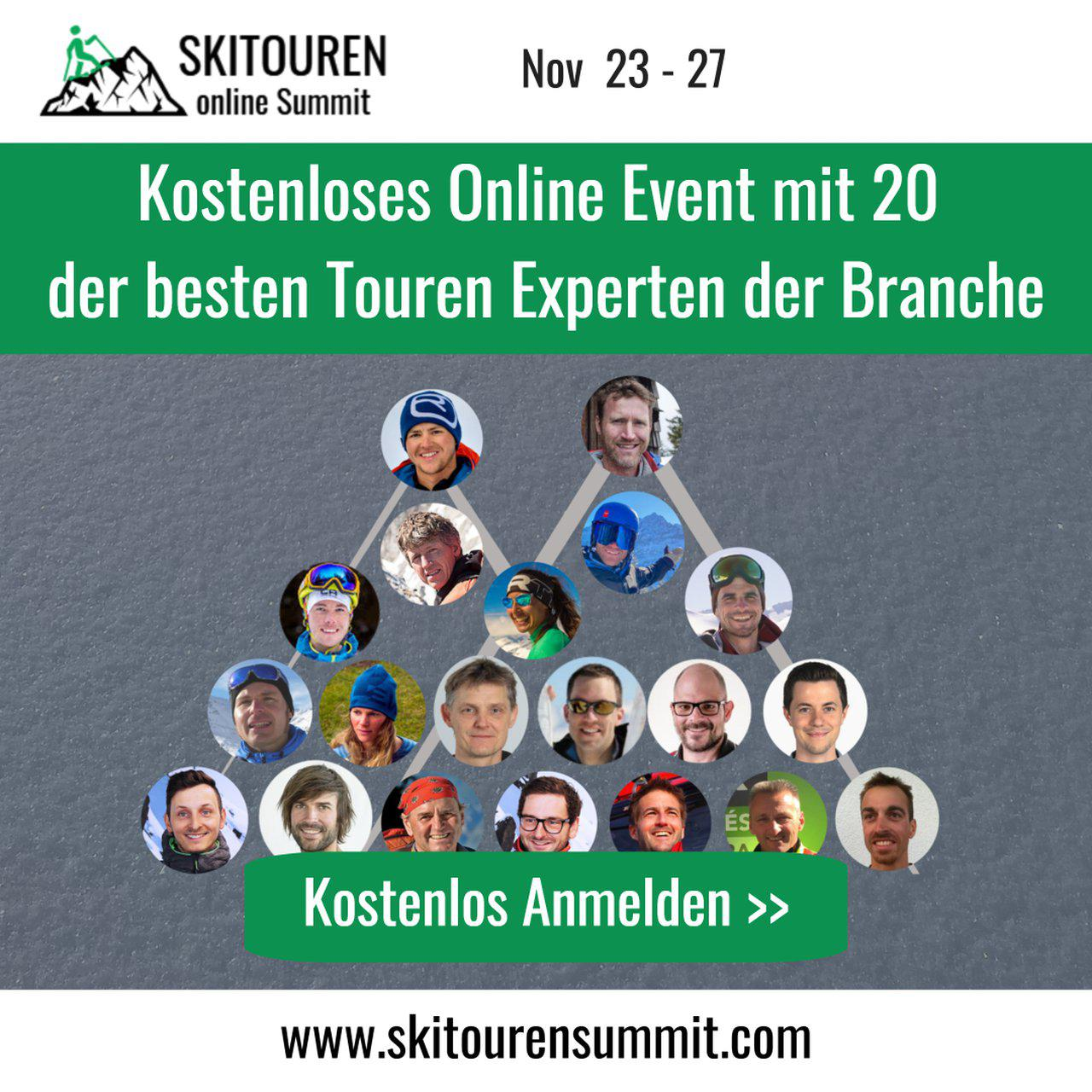 Skitouren Summit VIP-Ticket